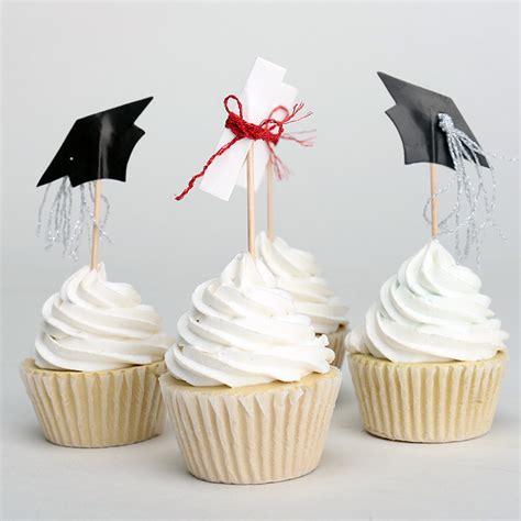 Cupcake Topper New Year Season S Greetings Bulat 5 Cm Topper Cup Cake 24pcs 2 designs cake decorations graduation season black white cupcake topper diploma