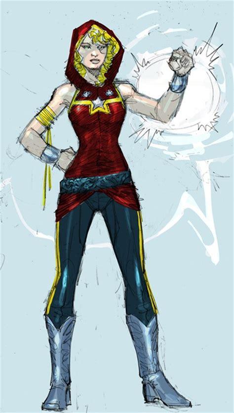 dc comics previews character designs
