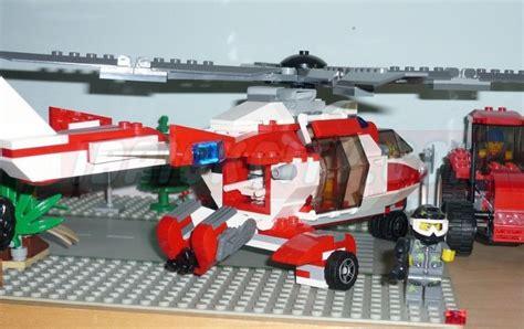 city rescue lego 7903 rescue helicopter i brick city