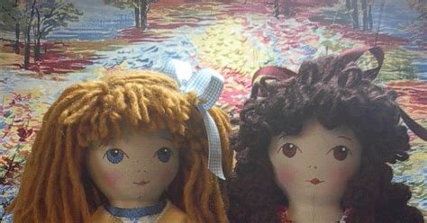 by hook by hand prairie flowers an original cloth doll by hook by hand bleuette fashions for prairie flowers