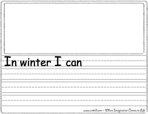 Kindergarten Sentence Writing Worksheets by Sentence Starters Writing Prompts Free Printouts