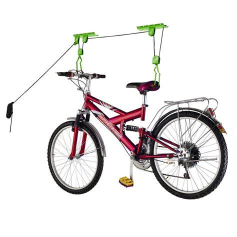 Bike Pulley Garage by Bike Storage The Storage Home Guide