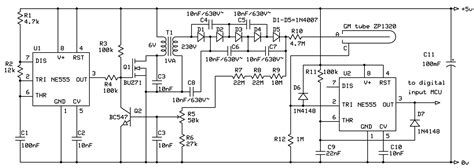 geiger counter diagram simple geiger counter let s make robots