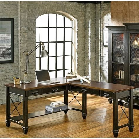 l shaped desk with right return martin furniture hartford 60 quot l shaped desk with right