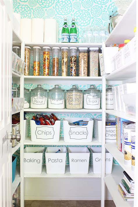 Food Pantry Organization Ideas by 23 Kitchen Pantry Organization Tips To Maximize Your Space