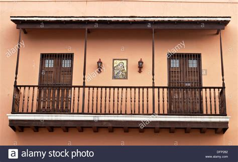 second floor balcony puerto rico san juan wooden second floor balcony two