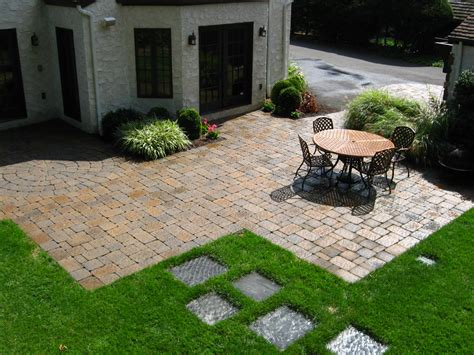 Stone Paver Patio Designs The Home Design : Stone Patio