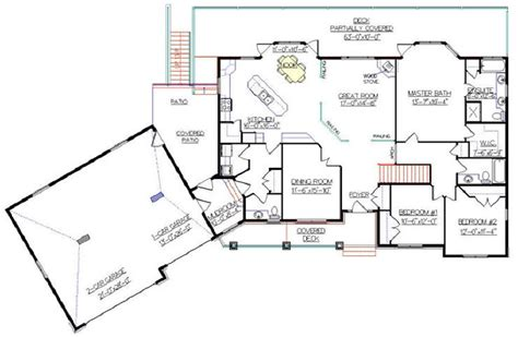 angled house plans bungalow plan 2011585 with angled garage by e designs