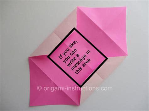 Origami Secret Message - origami secret folding