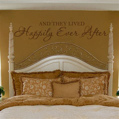 romantic wall stickers for bedrooms romantic wall decal bedroom quote vinyl lettering decor and