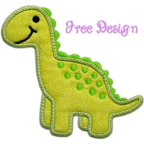 free applique embroidery designs free applique designs free dino applique