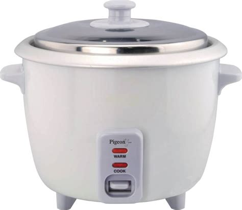 Rice Cooker 1l pigeon favourite electric rice cooker with steaming