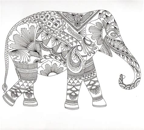elephant mandala coloring books 1000 images about coloring pages on