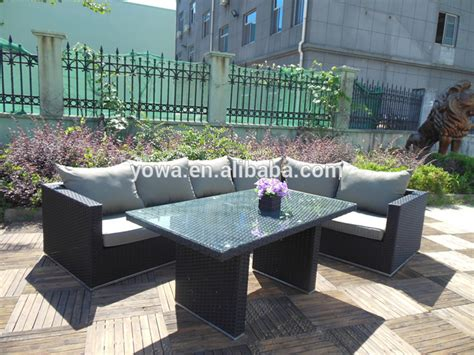 l shaped patio furniture garden