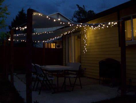 Patio String Light Ideas Ideas For Make Outdoor Patio Lights String Lighting And 2017 Wonderful Savwi