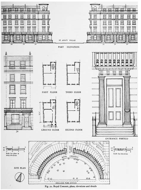 Houses Floor Plans Pictures The Norland Estate British History Online