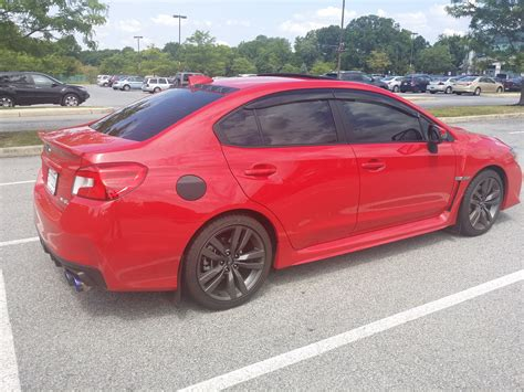 subaru sti 2016 red xenozx s 2016 red wrx limited build thread nasioc