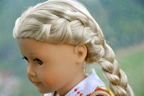 hairstyles for american girl julie french braided american girl caroline abbott by
