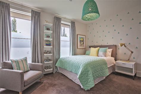 grey and mint bedroom fresh mint and grey modern big girl s bedroom kidsomania