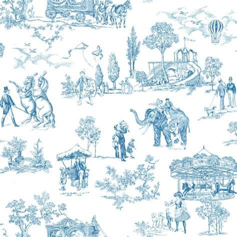 Papier Peint Anglais by Papier Peint Classiques Anglais Et Fran 231 Ais Bleu Carnival