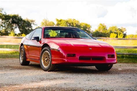 1988 pontiac fiero value collectible classic 1984 1988 pontiac fiero