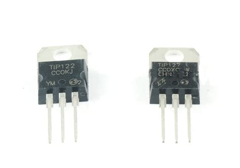 tip122 darlington transistor tip122 npn darlington transistor elektronik bauteile halbleiter boxtec onlineshop