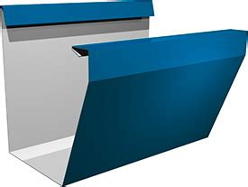 gutter section continuous gutter system the northclad gs series roll