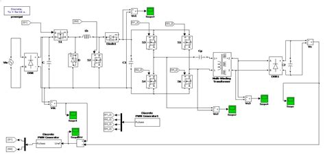 coupling transformer in matlab matlab electrical ieee 917207560923 voltage controllable power factor corrector based