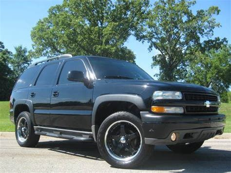 automobile air conditioning service 1996 chevrolet tahoe engine control sell used 03 chevy tahoe z71 4x4 5 3 vortec v8 black gray leather sunroof black 20 quot wheels in