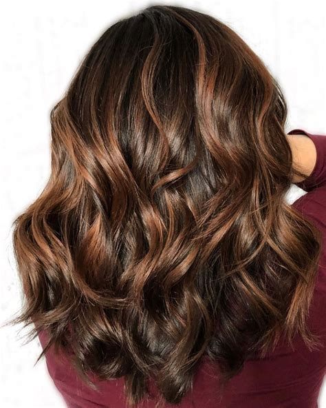 highlight color 60 hairstyles featuring brown hair with highlights