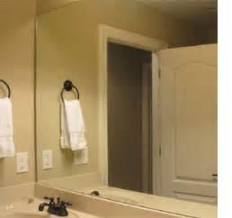 wow factor wall mirrors cosy home blog home dzine bathrooms frame a bathroom mirror
