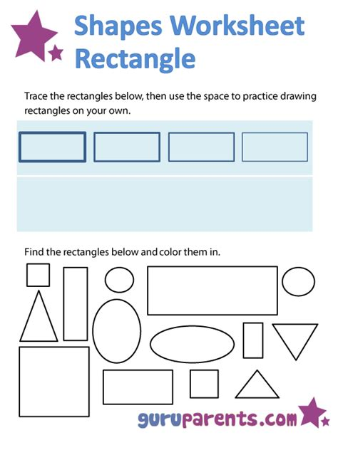 pattern of rectangular numbers all worksheets 187 rectangle worksheets printable
