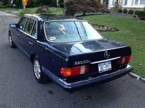 1989 Mercedes 560sel by Sell Used 1989 Mercedes 560sel Daily Driver 163k