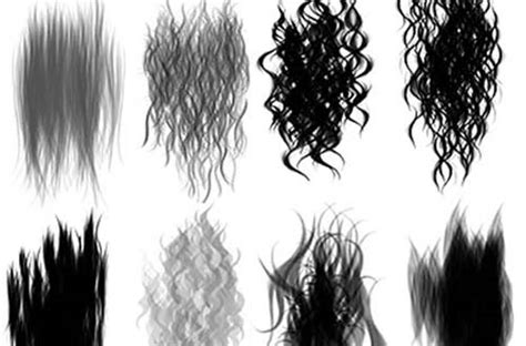 photoshop pattern hair hair texture brushes photoshop rachael edwards