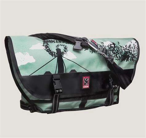 Beautiful Bags To Check Out by Chrome X Lil Tuffy Artist Series Bags Iamfatterthanyou