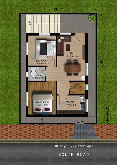 plan of 2bhk house home design and style