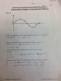 interpreting motion graphs worksheet worksheets for
