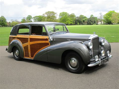 classic bentley a short history of the shooting brake a continuous lean