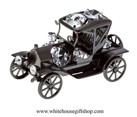 Henry Ford Help Desk by Table Top Pewter Metallic Fanciful Henry Ford Model T Car