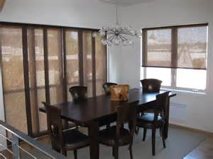 dining room blinds sliding panels roller shades modern dining room seattle by anchor blinds