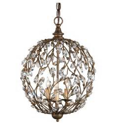 chandelier lighting bronzed globe chandelier