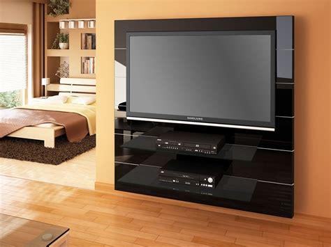 Wandpaneele Wohnzimmer 1087 by Panorama Black High Gloss Tv Cabinet Modern Tv Stands