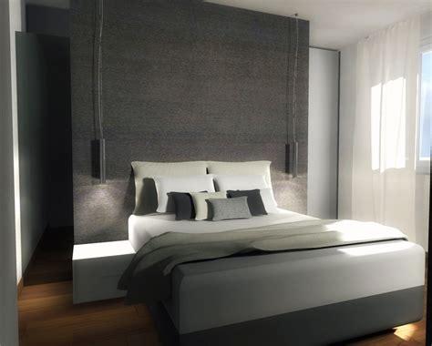 cabina armadio dietro letto mansarda una casa sottotetto luminosa e contemporanea