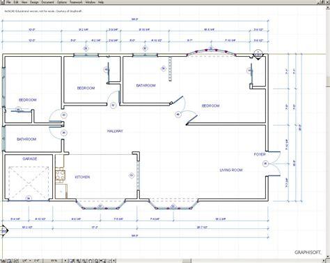 house plan measurements architecture