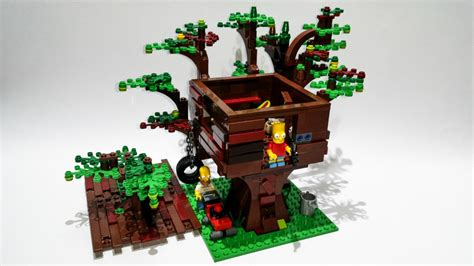 lego ideas product ideas lego simpsons barts treehouse