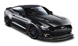 ford mustang hennessey black car png image pngpix