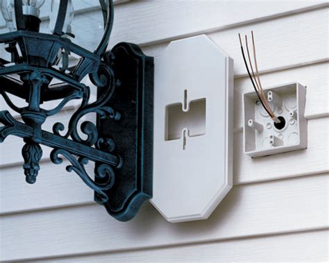 Mounting Outdoor Lights To Siding Arlington 8091fdblc Product Information