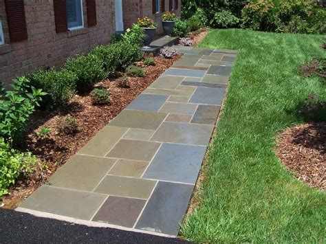 Design Ideas For Flagstone Walkways Gorgeous Walkways To Add Your Home
