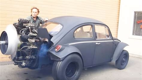 bug video max this radial engine powered vw bug would be good enough for