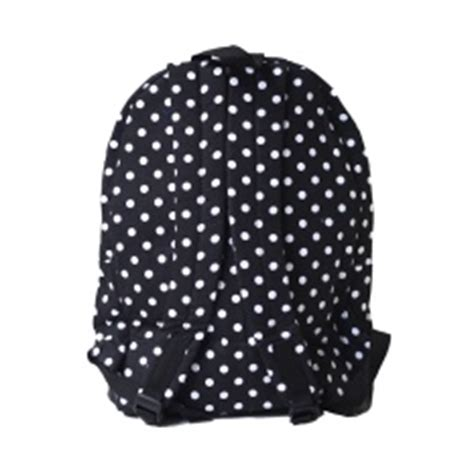 Tas Ransel Polkadot 3in1 Tas Backpack Sekolah po fashion wanita tas sekolah perempuan